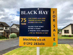 LOOK OUT for our NEW FOR SALE SIGNS!